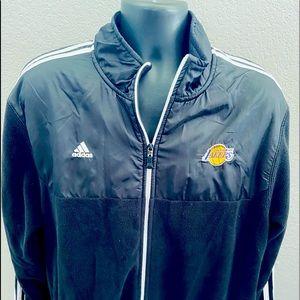Adidas Los Angeles Lakers Fleece Track Jacket